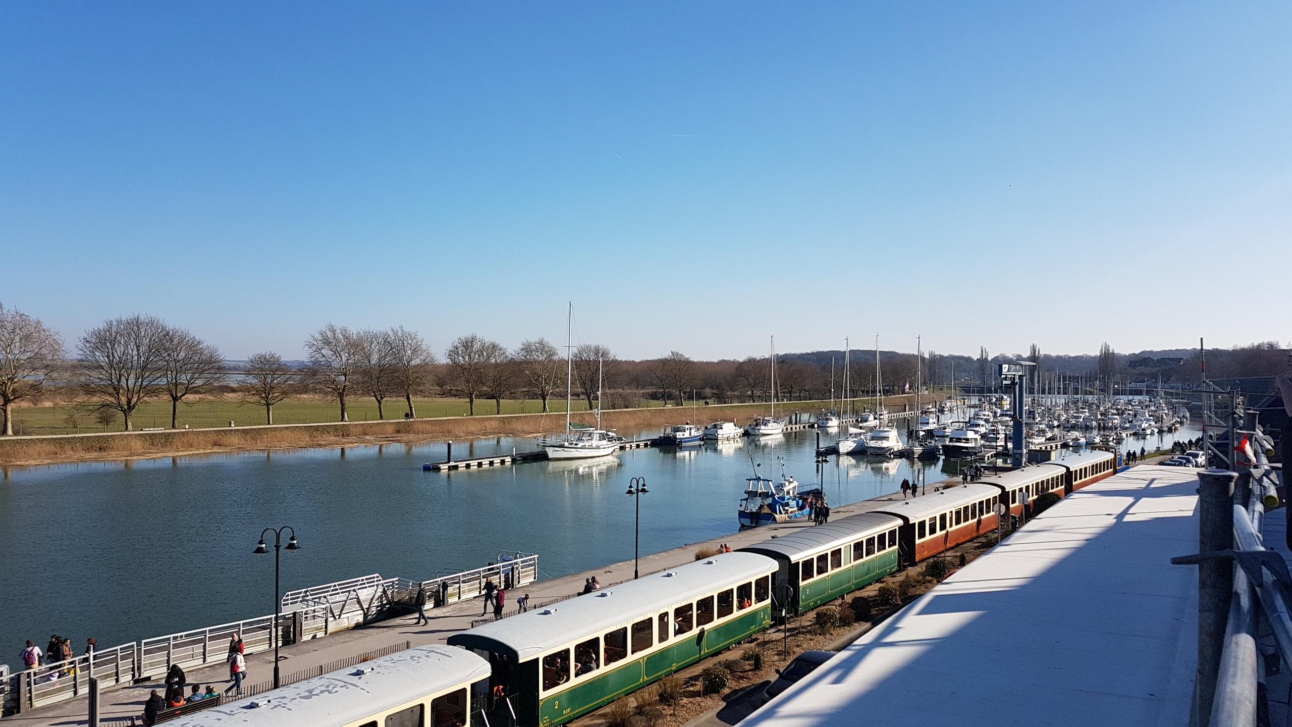 Le pti train de la Baie de Somme